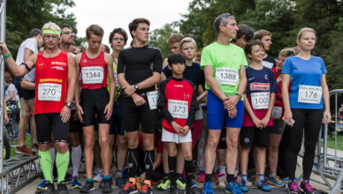 Spendenlauf Run & Roll in Dresden