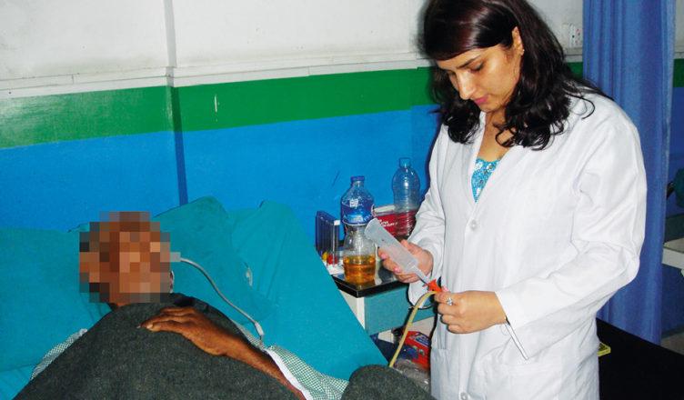 Hilfe für junge Medizin-Studentin aus Nepal