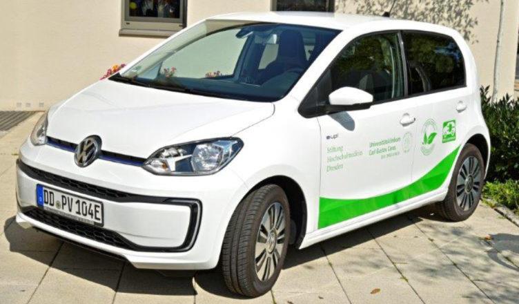 VW e-UP für die ambulante Betreuung schwerstkranker Patienten